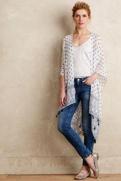 Subtle Luxury Yasmin Kimono #anthrofave