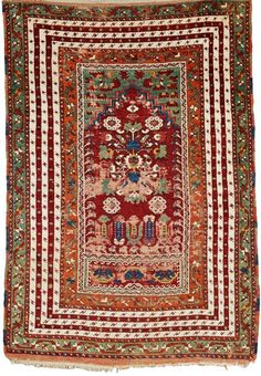 Central Anatolian Prayer Rug, last quarter 19th century, (areas of wear), 6 ft. x 4 ft. 2 in.