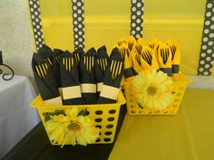 Bee Birthday Party Ideas | Photo 7 of 21 | Catch My Party