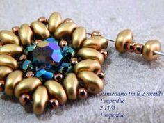 Tutorial orecchini in tessitura di perline #bijoux #handmade #earrings
