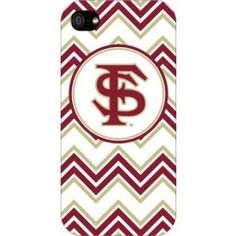 Florida State Seminoles Chevron Print iPhone 5 Case