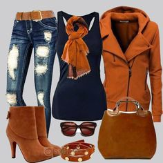 Gorgeous Winter Fashion Outfit Combination