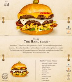 40 Of The Most Delicious-Looking Cheese Burger Combinations Ever - UltraLinx Burger Menu, Gourmet Burgers, Meat And Cheese, Cheese Burger, Burger Toppings, Burger Dogs, Good Food, Yummy Food, Delicious Burgers