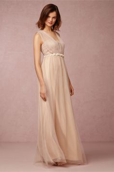 Annabelle Dress from BHLDN: another dress that comes in a variety of colors & has a (sash) you can tie in several different ways!