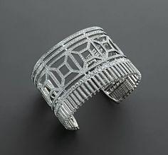 Diamond Cuff Bracelet by Boucheron! #Bracelet #Vintage
