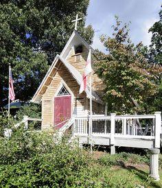 St. Luke's Episcopal Church in Buncombe County, North Carolina.