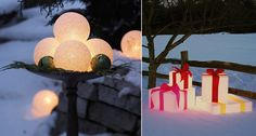 Let's Decorate Online: Bringing Christmas Atmosphere to your Front Yard