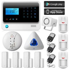 Ios/Android Wireless Sms Autodial Home Office Gsm Alarm System Kit Indoor Siren From Longhoishing, $158.89   Dhgate.Com