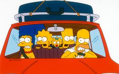 """The Simpsons """"What's the point of going out? We're just gonna wind up back home anyway."""""""