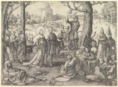Lucas van Leyden | Dance of St. Mary Magdalene | The Met