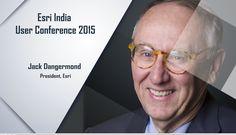 Jack Dangermond keynote address at Esri India User Conference 2015