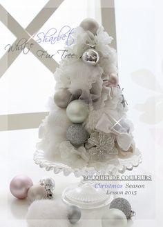 White Sharbet Fur Tree