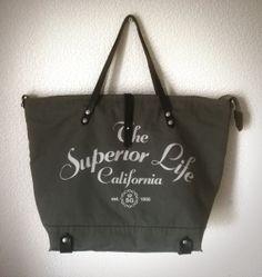 Khaki Canvas bag with Dark Brown leather handles  #canvasbag, #canvasbackpack, #totebag, #handmadebag, #leatherhandlebag, #snazzygoods, #snazzygoodsbags, #snazzygoodsbackpack