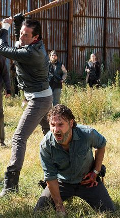 almost kicked negan's ass when he was about to hit carli almost started to cry can't wait for october
