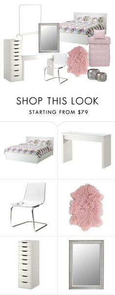 """bed"" by neteee on Polyvore featuring interior, interiors, interior design, home, home decor and interior decorating"