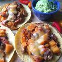 butternut squash & black bean tacos - Hungry Happens!