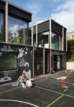 + Arquitetura :   Conheça a casa projetada pela BLAF Architecten, localizado em Asse (Belgica).