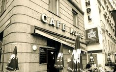 Cafe Korb....our favorite cafe in Vienna