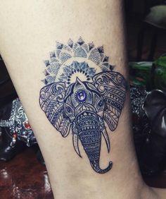 Elephant Tattoo!!
