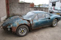 1973 Ferrari Dino Barn Find, We love a retoration, this may take a while though!