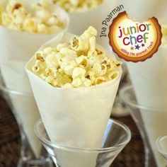 Buy a good quality popcorn. Avoid microwave popcorn for this recipe.