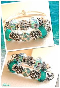 Love Hinna's blue beauty bracelets!