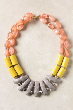 Gorgeous necklace!  Anthropologie $58.