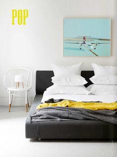 Toby Scott - The Design Files Home Interior, Interior Styling, Interior Design, Interior Ideas, Home Bedroom, Bedroom Decor, Master Bedroom, Bedroom Designs, Bedroom Colors
