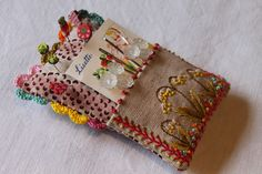 pincushion and needle holder