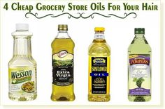 Grocery store oils for hair