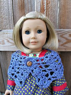 createbellacreate: Crochet Pattern: American Girl Shawl/Wrap