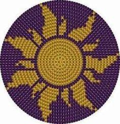 Trendy Crochet Bag Bottom Pattern Purses 58 Ideas You are in the right place about topflappen strick Tapestry Crochet Patterns, Crochet Mandala Pattern, Bead Crochet, Crochet Stitches, Cross Stitching, Cross Stitch Embroidery, Mochila Crochet, Tapestry Bag, Crochet Handbags