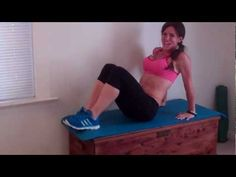Beginner: 10 reps Intermediate: 15 reps Advanced: 20 reps or: You can also complete this workout for maximum reps as a 15 minute HIIT workout with seco. 15 Minute Hiit Workout, Abs And Cardio Workout, At Home Workouts, Melissa Bender, Full Body, Total Body, Circuit Training, No Equipment Workout, Stay Fit