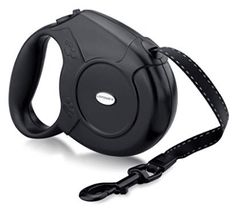 URPOWER Feet Nylon Retractable Dog Leash with Nylon Ribbon Cord, Hand Grip, One Button Brake and Lock for Small, Medium Dogs >>> You can get additional details at the image link. (This is an affiliate link and I receive a commission for the sales) Dog Diapers, Dog Agility, Dog Hoodie, Outdoor Dog, Medium Dogs, Dog Leash, Dog Harness, Dog Accessories, Dog Walking