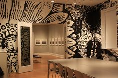 large scale graphic wallcovering