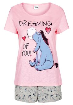 Clothing at Tesco | Disney Winnie the Pooh Shorts Pyjamas > nightwear > Nightwear & Slippers > Women