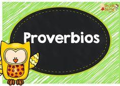 Ideas y reproducibles para enseñar sobre Proverbios