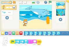Scratch Jr coding app for kids, teaching kids to code, help kids learn to code Educational Apps For Toddlers, Best Educational Apps, Educational Technology, Digital Technology, Educational Toys, Teaching Kids To Code, Kids Learning, Teaching Ideas, Computer Coding