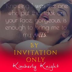 From USA Today bestselling author Kimberly Knight, comes a sexy, forbidden lovers standalone novel. Knight News, Black Tie Party, Usa Today, Romance Books, Bestselling Author, Novels, Invitations, Face, Sexy
