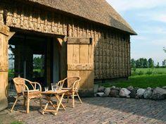 Terras vakantiehuisje Wilmsboo - Drenthe