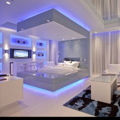 This looks like a room from the future