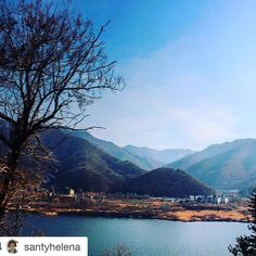 #Repost @santyhelena  I don't know how beautiful this viewwhen i walk  hold my hand when i feel cold hug me babewhen i miss you will look at the sky to find you in thereyou are the sun you are my lightdo you still love me babei wanna spend forever with you  miss you so much