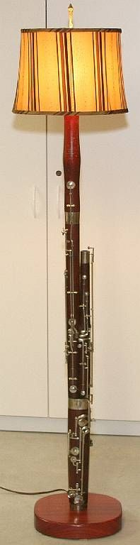 Is it bad that I absolutely love this? On one hand I would hate to do this to a bassoon, but on the other hand - if it can't play worth a crap, why not?