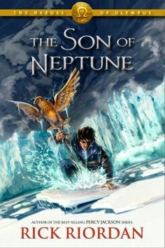The Son of Neptune by Rick Riordan FIRST READ: 1.The Lightning Thief 2.The Sea of Monsters 3.The Titan's Curse 4.The Battle of the Labyrinth 5.The Demigod Files(extra book) 6.The Last Olympian 7.The Lost Hero