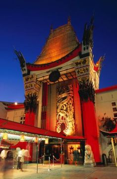 Los Angeles Photos at Frommers - Graumans Chinese Theatre.