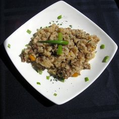 Dirty Rice-A delicious change from boring white rice