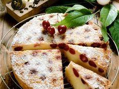 Versunkener Sauerkirschkuchen ist ein Rezept mit frischen Zutaten aus der Kategorie Kirschkuchen. Probieren Sie dieses und weitere Rezepte von EAT SMARTER!