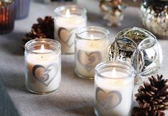 Candles for Christmas Decor