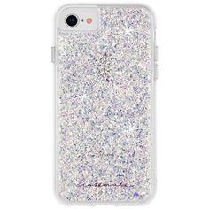 Case-Mate Apple iPhone 8 Plus Twinkle Case - Stardust Diy Iphone Case, Iphone Phone Cases, Iphone Se, Free Iphone, Iphone Hacks, Iphone Charger, Iphone 8 Plus, Glitter Phone Cases, Cute Phone Cases
