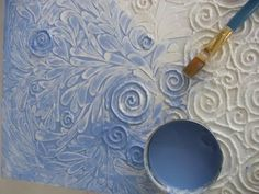 DIY canvas to make beautiful decor in your house